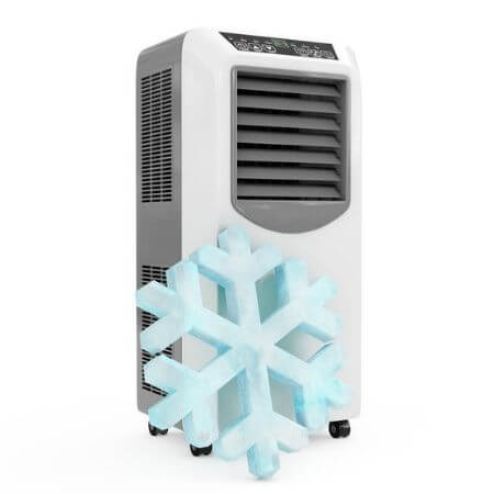Como funciona un climatiador evaporativo portatil