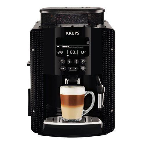 Krups Milano Black - Cafetera súper-automática