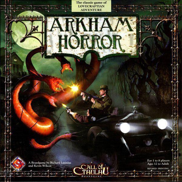Juego mesa Arkham Horror