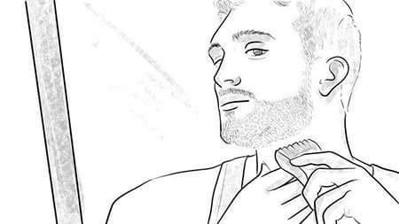 como-usar-una-cortadora-de-barba-03