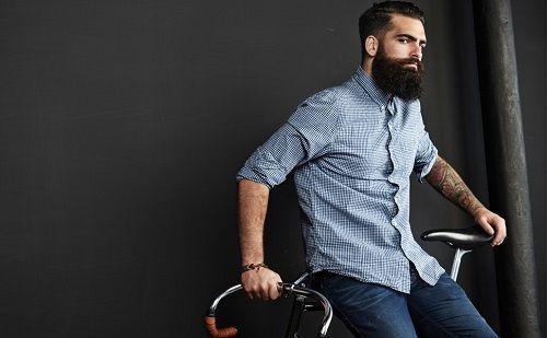 barba hipster perfecta