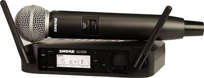 microfono inalambrico shure gldx4
