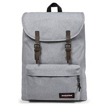 eastpak gris con correas