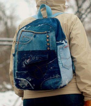 mochila vaquera hipster