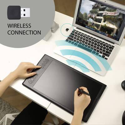 tableta inalambrica marca huion modelo inspiroy