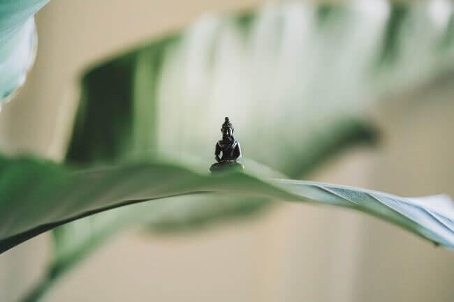 Cojines para meditar zafu buda miniatura