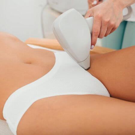 Como depilas el pubis con laser en casa