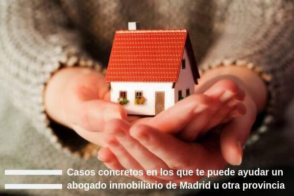 Casos en los que te puede ayudar un abogado especializado en derecho inmobiliario