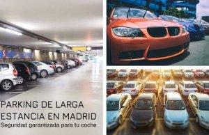 Mejores parking de larga estancia en madrid