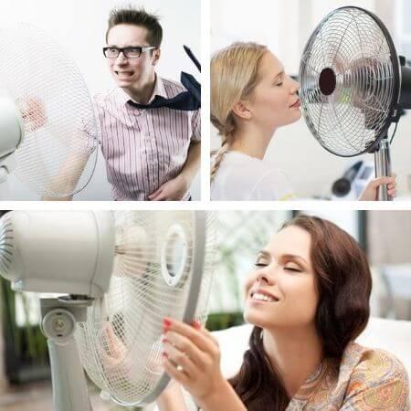 Limpieza y mantenimiento de los ventiladores de pie