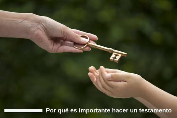 Por que es importante hacer un testamento