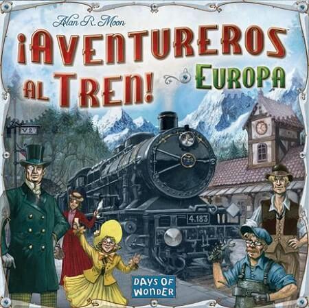 Juego de mesa aventureros al tren